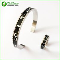 bc numbers - BC Jewelry Luxury brands Speedometer Stainless Steel Bracelet Ring set Speedometer Offical Jewelry BC