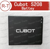 Wholesale Original Cubot S208 Battery High Quality Brand New mAh Li ion Battery Replacement for Cubot S208 Smart Phone