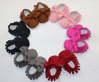 Wholesale High quality baby PU leather shoes kids shoes sandals fringe shoes new designed baby walking shoes K056