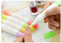 Wholesale Hot sale Manicure Nail Art Polish Corrector Remover Cleaner Pen Replacement Tips DHL