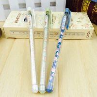 Wholesale 36pcs Happy Day Gen pens New fresh garden Floral School material Creative stabilo gel pen cute Korean stationery school supply p007