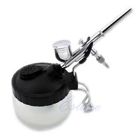 airbrush cleaner - Z101 quot Pro Airbrush Cleaner Air Brush Clean Pot Jar Cleaning Station Bottles Holder Set