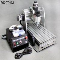 mini desktop cnc router - DHL shipping mini desktop engraving machine CNC T DJ upgrade from T Router Engraver Milling Drilling Machine