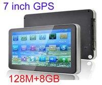 canada - 7 inch GPS navigation FM DDR128MB GB car gps MTK MHZ Free maps for Europe North America USA Canada Australia B
