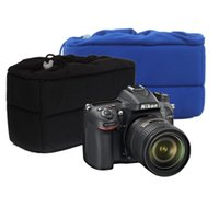 Wholesale Shockproof Camera Lens Case Pouch Insert Cushion Partition Padded Bag For DSLR SLR Accessories