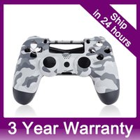 Wholesale Replacement Case Front Shell Housing Cover for Sony PS4 DualShock Controller Camouflage order lt no track
