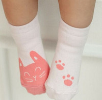 baby room prints - 2015 New Korean Princess Baby Boys Girls Socks Cat Print Lovely Girl Children Clothing Sock Antiskid Kid Dresses Sock Room Socks K4173