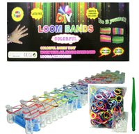 Cheap General Rainbow Loom Bands Best China  Bracelet Kit With Clips