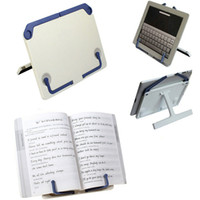 Wholesale 2PCS Portable Bookstand Bookend Holder Frame Reading Desk Book Stand Bookrest Bookstand Tablet Stand folding