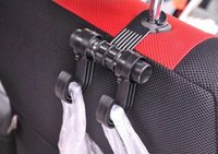 Wholesale Hot selling Headrest Accessories Auto Car Venhicle Seat Bag Hook Hanger Holder black
