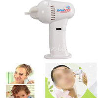 Wholesale High Quality Painless Safety Electric Vac Vacuum Cordless Ear Cleaner Wax Remover Earpick With LED Light