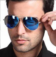 Cheap Pilot Reflective Colorful Yurt Glasses Best Aviator Mirror Metal Sunglasses