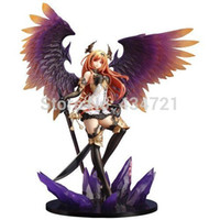 action figures statues - Hot Pop Game Anime Kotobukiya Rage Of Bahamut Dark Angel Olivia Ani Statue CM PVC Action Figure Toy New Loose