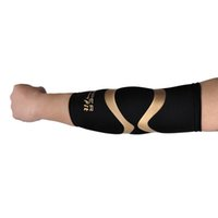 Wholesale Sports Safety Arm Sleeve Copper Fit Sports Gauntlets Elbow Multifunction Brace Basketball Elbow Brace