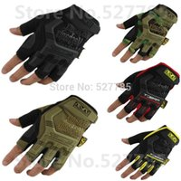 bicycle safety wear - Outdoor Mechanix Wear M Pact SEALs SWAT Climb Military Tactical Gloves Airsoft Hunting Bicycle Army Paintball Protective Safety