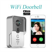 Wholesale 2016 Hot HD P Wifi Doorbell Camera Wireless Video Intercom Phone Control IP Door Phones Wireless Door bell IOS Android
