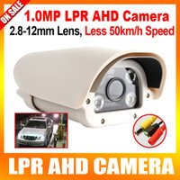 Wholesale 720P High Definition Vehicle Analog AHD LPR Camera mm Varifocal Lens Automatic LEDs For Parking Entrance Toll Station