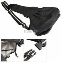Wholesale Black Sling Shoulder Bag Carrier Pet Dog Puppy Strap S M L