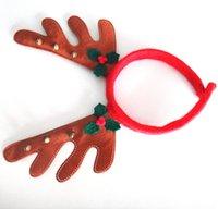 adult reindeer costume - Reindeer Antlers Ears Headband Christmas Kids Adult Costume Accessory Hat Christmas Party Costume