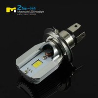 Wholesale Hot Sale Super Bright W W LED Headlight COB high Beam Low Beam For Motorcycle V