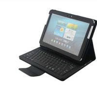 Wholesale 2015 Hot Sale p5100 Leather Bluetooth Keyboard Stand Case Cover For Samsung Galaxy Note p5100 J