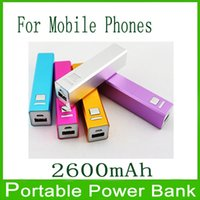 Wholesale Power Bank mah Universal Backup USB Battery Power Bank External Battery Pack Charger For Samsung S2 S3 S4 S5 HTC LG Sony Huawei etc