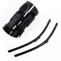 Wholesale 2PCS quot quot Car Windscreen Wipers Blade Bracketless Rubber Arm Blade for BMW SERIES E60 E61 Windshield Wiper
