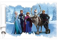Wholesale HOT SALE ELSA trade new children s room nursery Frozen Hot explosion models custom removable wall stickers