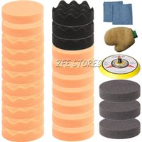 Polish Pads car polisher - 28Pcs mm inch Higher Gross Polish Polishing Buffer Pad Kit for Car Polisher