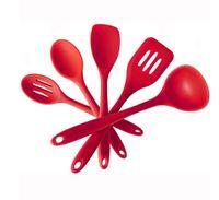 Wholesale Silicone piece Kitchen Cooking Utensil Gadget Set Hygienic Solid Holder Hanger