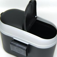 Wholesale Mini Square Car Trash Bin Rubbish For Car Office Home Car trash Garbage Holder Trash Can