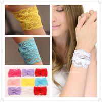 Wholesale 2015 Fashion New Bohemia Lace Bracelets Wedding Bracelet Fabric Bracelet Bangles love bracelet for Girls women Street Jewelry DCWT