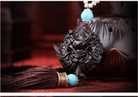 Wholesale Car pendant traditional hand carved ebony peace within Xianglong car ornaments