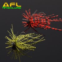 beard group - Afishlure AP08 g tungsten head hook with rubber group jig beard guy soft rubber bait lead jig hot sales