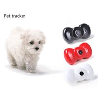 Wholesale Multi function Mini Bow Tie Video GSM GPRS Locator Tracker for Pets Dogs Cats Tracking Pet Products