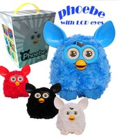 furby - Newest Furby Boom Plush Toy Electronic LCD Eyes Phoebe Firbi Elves Recording Plush Talking Toys for Kids Children Christmas CW0333