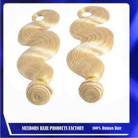Cheap Malaysian Hair virgin brazilian hair Best Body Wave Under $50 blonde 613 body wave