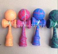 Wholesale ball kendama Professional game top quality full crack paint beech