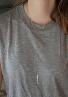 couples sweater - Golden tassels long necklace Sweater necklace Couples jewelryfloating locket15pcszl
