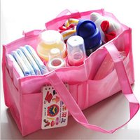 Wholesale Non woven Fabric Multifunction Mummy Bag Baby Nappy Diaper Bags Handbags Carrier Storage Bag Organizer Mom Solid Women Pregnant Bag Hot