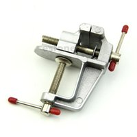 Wholesale New Mini Aluminum Bench Table Swivel Lock Clamp Vice Craft Jewelry Hobby Vise