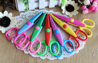 Wholesale Decorative Paper Edger Sewing Scissors Scrapbooking Crafts Album Photos DIY for Family Decorates