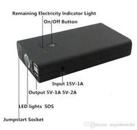 Wholesale A4 mAh Multi Function Car Battery Car Jump Starter Mobile phone Power Bank Laptop External Rechargeable Battery