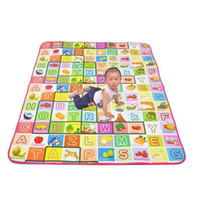 Wholesale Kid s Play Mats New Baby Educational Soft Crawl Pad Play Learning Safety Mats Climb Blanket Game Carpet Size ZWS016