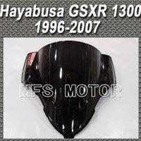 Wholesale Black Windshield Windscreen For Suzuki GSXR GSX R1300 Hayabusa