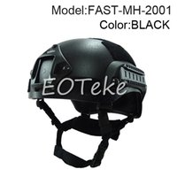 Wholesale Mich Military Tactical Combat Helmet w NVG Mount Side Rail For Field game Airsoft tactical helmet