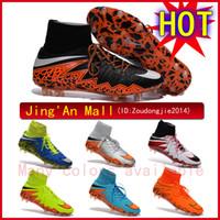 Wholesale Free Shippping Nike Hypervenom II Phantom Premium soccer cleats nike mercurial superfly fg soccer shoes Nike soccer cleats nike shoe