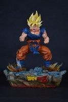 resin figure - Heat Toy Dragon Ball Dragon Ball Goku Super Saiyan s strong change GK resin hand model AceCool figure incredible