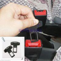 belt buckles blanks - 2 X Universal seat Belt Insert Plug Buckle Blank effect Stops warning alarm buzzer order lt no track
