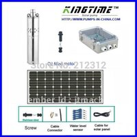 solar water pump system - water solar system panel solar submersible pump solar years warranty Model No JS4